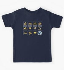 Nature | Nature Design with Outdoor Activity Icons Kids Clothes