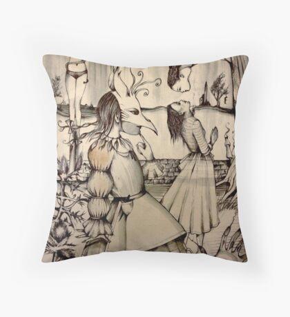 FANTOMA Throw Pillow