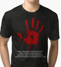 AWESOME Dark Brotherhood Black Sacrament!  Tri-blend T-Shirt