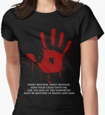 AWESOME Dark Brotherhood Black Sacrament!  Women's Fitted T-Shirt