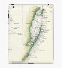 Vintage Map of The Keys of Florida (1853) iPad Case/Skin