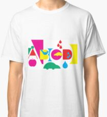 Graphic ABC Classic T-Shirt