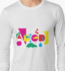 Graphic ABC Long Sleeve T-Shirt