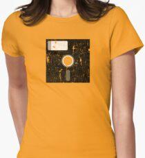 Retro Floppy Women's Fitted T-Shirt