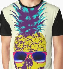 Pineapple Skull Graphic T-Shirt