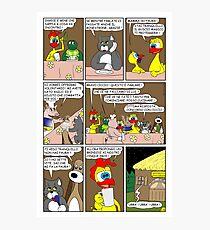 "Rick the chick  ""THE MAGIC SHELL (ITALIANO) parte 26"" Photographic Print"