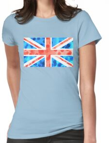 Bubble Flag Womens Fitted T-Shirt