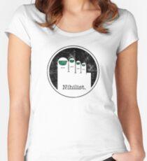Minimalist Nihilist Women's Fitted Scoop T-Shirt