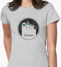 Minimalist Nihilist Women's Fitted T-Shirt