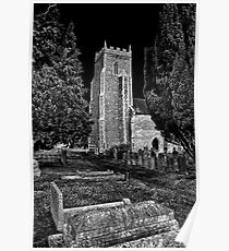Church of St Mary, Tharston Poster