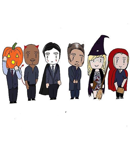83c630441c14 BAU unit Criminal minds halloween