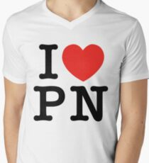 I Love Panem (for light tee's) Mens V-Neck T-Shirt