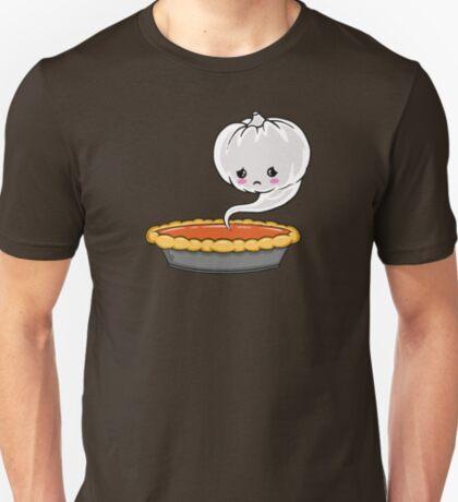 Sad Pumpkin   Cute Pumpkin Ghost  T-Shirt