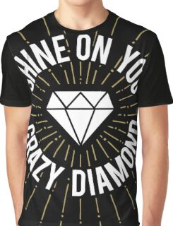 Shine On You Crazy Diamond Graphic T-Shirt