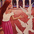 ✿◕‿◕✿  ❀◕‿◕❀ Feeding Doves In Flight ✿◕‿◕✿  ❀◕‿◕❀ by ✿✿ Bonita ✿✿ ђєℓℓσ