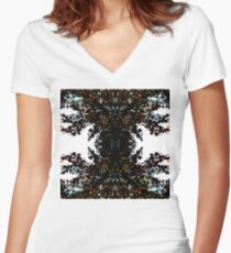 Prismatic Women's Fitted V-Neck T-Shirt