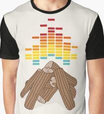 Crackling Fire Graphic T-Shirt