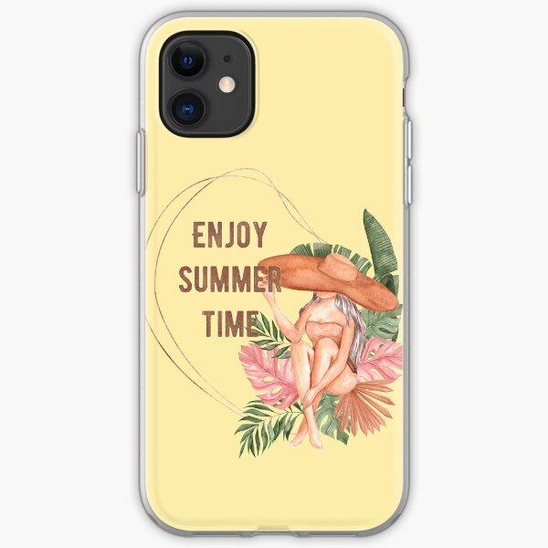 Genieße Sommer Zeit iPhone Flexible Hülle
