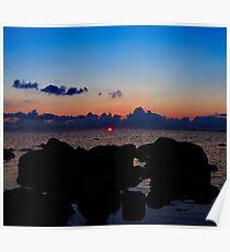Hiiumaa. Sunset. Poster
