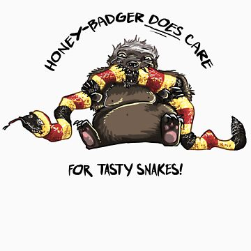 Honey-Badger DOES care! by Rosalila