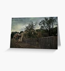 Charming Cottage Greeting Card