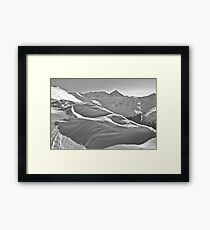 Kasprowy Wierch  or Kasprov vrch (in Slovak) is a mountain in the Western Tatras. Poland . by Brown Sugar . Merry Christmas and Happy New Year 2013 ! Framed Print
