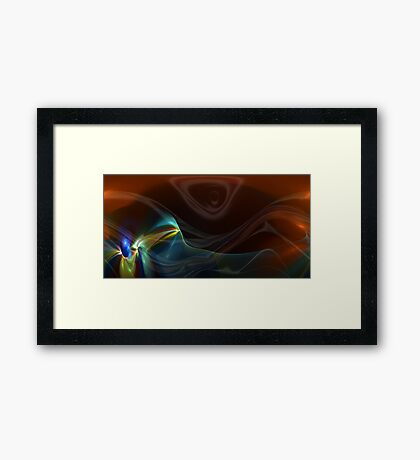 Take a breath and relax Framed Print