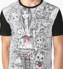 wonderland shattered Graphic T-Shirt