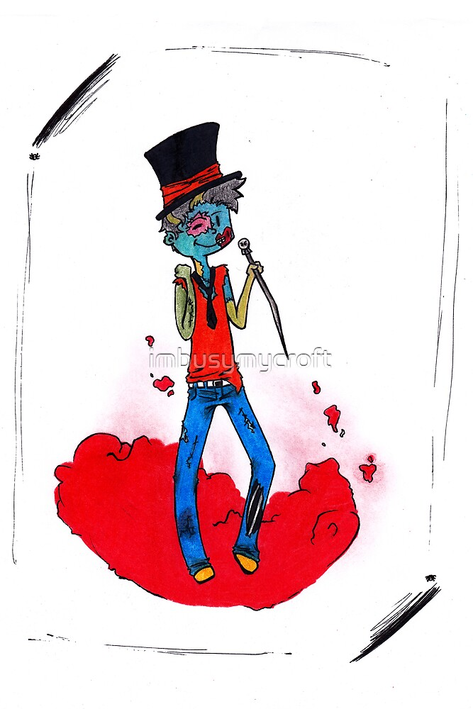 Zombies Can be Classy Too by imbusymycroft