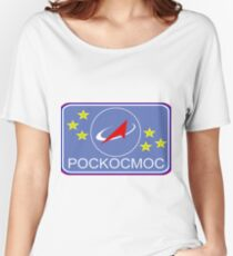 Roscosmos - Flight Suit Patch Women's Relaxed Fit T-Shirt