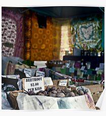 Potato Stall, Farm Gate Market Poster