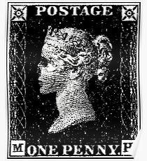 Penny Black Death Poster