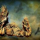 I Rise To Fly With Eagles by CarolM