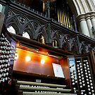 Pipe organ, Bridlington Priory, England by Jenny Setchell