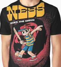 Ness Saves The Earth Graphic T-Shirt
