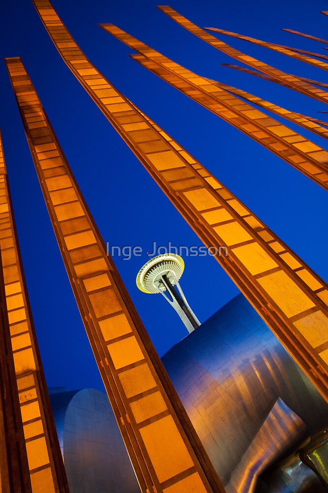 Seattle Bamboo by Inge Johnsson