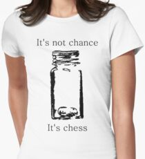 It's Not Cance, It's Chess Women's Fitted T-Shirt