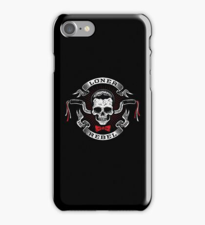 The Rebel Rider iPhone Case/Skin