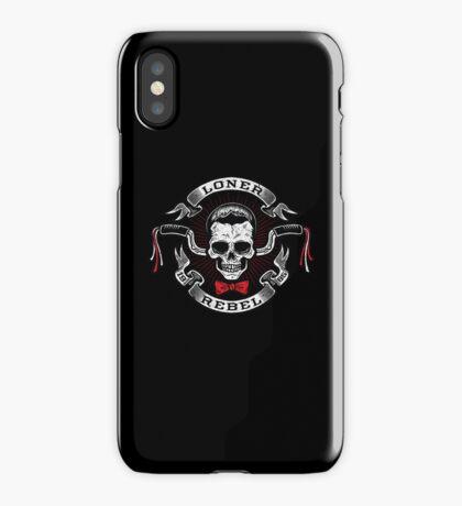 The Rebel Rider iPhone Case