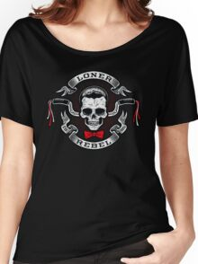 The Rebel Rider Women's Relaxed Fit T-Shirt