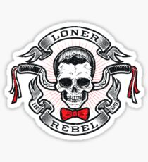 The Rebel Rider Sticker