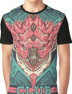 Hunting Club: Pink Rathian  Graphic T-Shirt