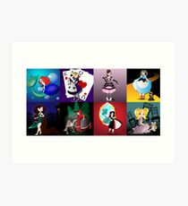 Twisted Tales - the complete series Art Print