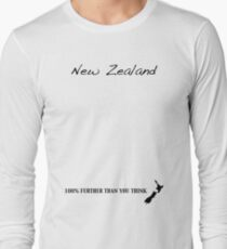 New Zealand - 100% Further Than You Think T-Shirt