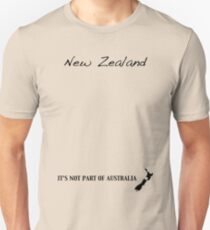 New Zealand - It's Not Part of Australia T-Shirt