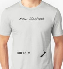 New Zealand - Rocks!!! T-Shirt