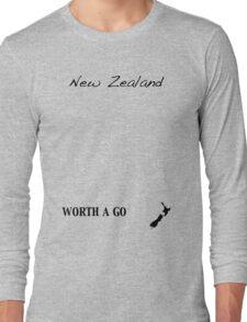 New Zealand - Worth A Go Long Sleeve T-Shirt