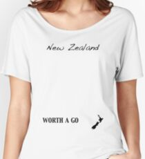 New Zealand - Worth A Go Women's Relaxed Fit T-Shirt