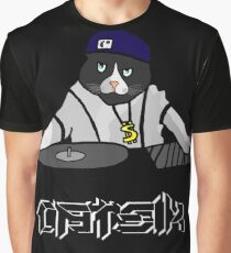 DJ Catsik Graphic T-Shirt