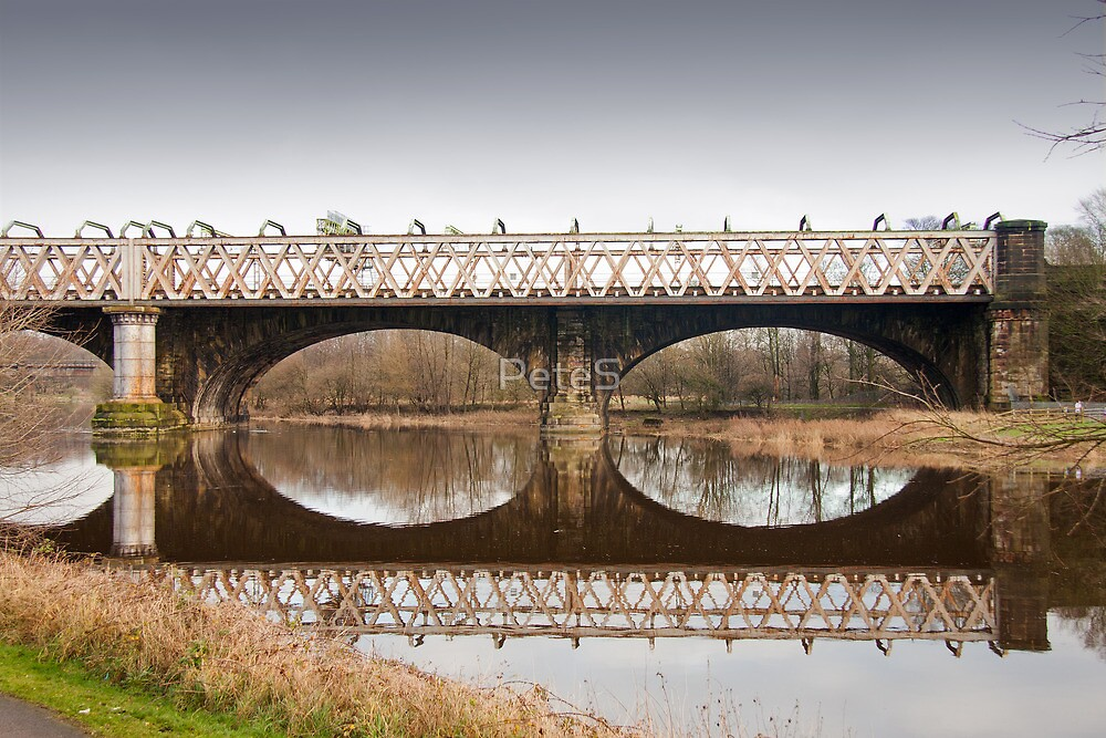 Bridge over the River Ribble by Peter Stone